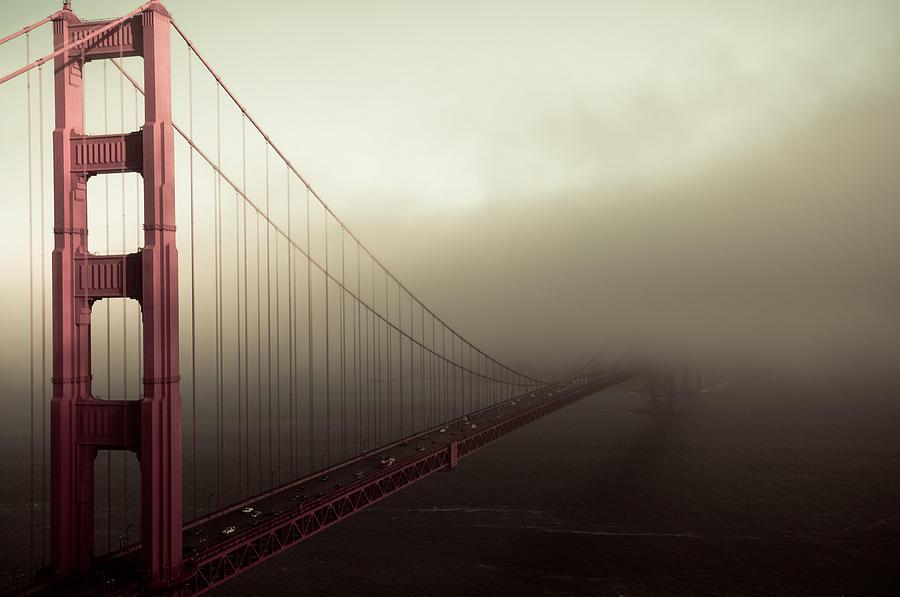 Golden Gate Bridge Photograph - Bridge To The Unknown by Jeffrey Yeung