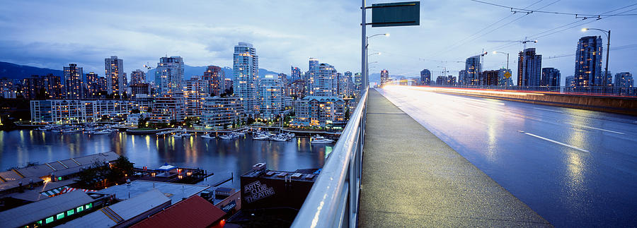 Color Image Photograph - Bridge, Vancouver, British Columbia by Panoramic Images