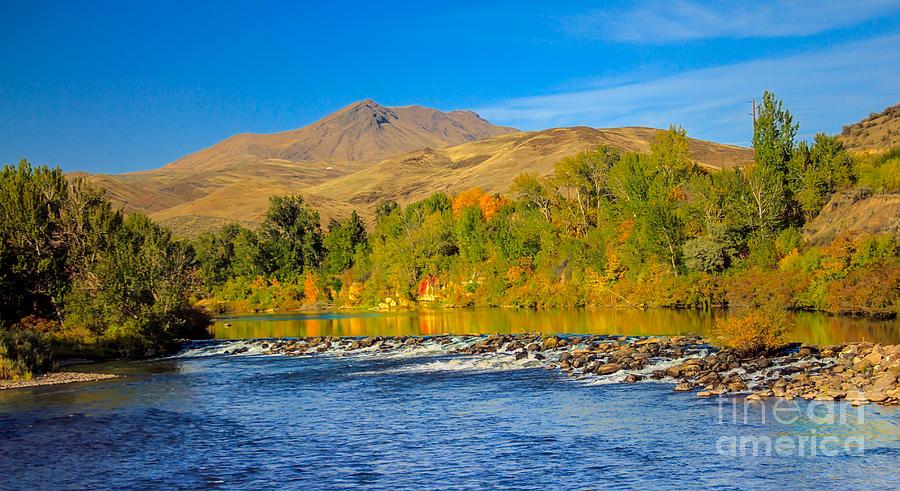 Idaho Photograph - Bridge View by Robert Bales