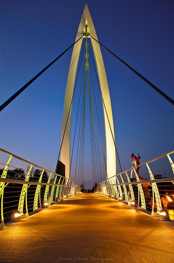 Bridges Photograph - Bridge With Light by Garett Gabriel