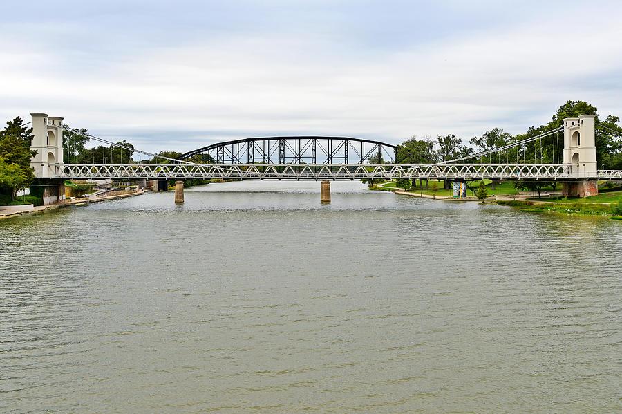 Waco Photograph - Bridges In Waco Tx by Christine Till