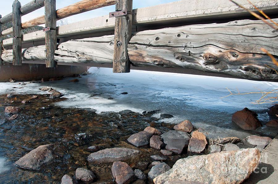 Bridge Photograph - Bridges by Minnie Lippiatt
