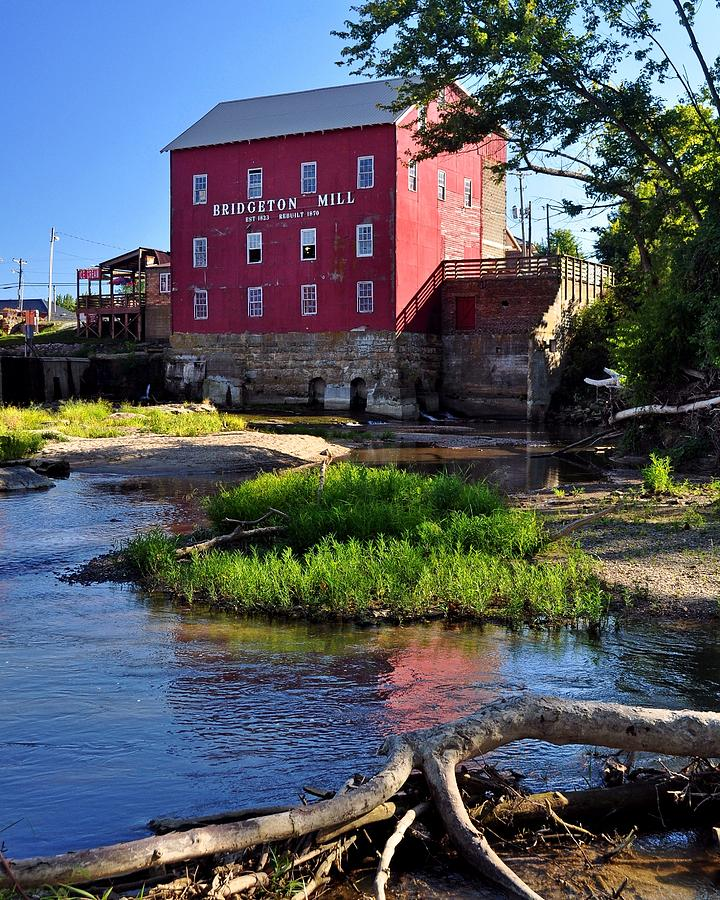 Mill Pastel - Bridgeton Mill 2 by Marty Koch