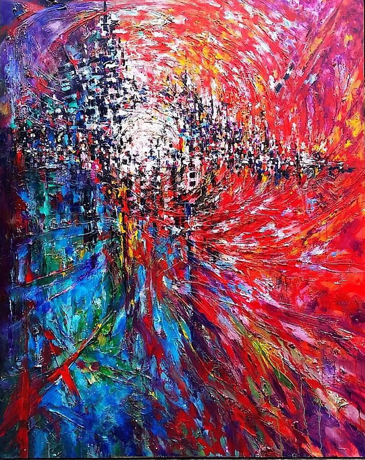 Bridging Eternity Painting by Helen Kagan 3e2a478cc0