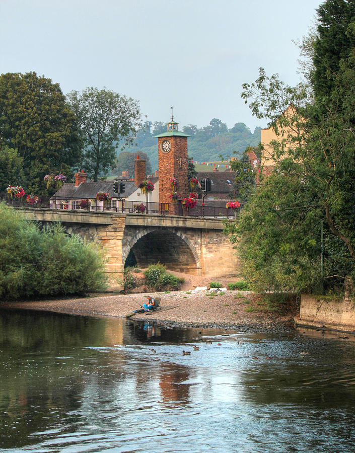 Bridgnorth Low Town  by Sarah Broadmeadow-Thomas