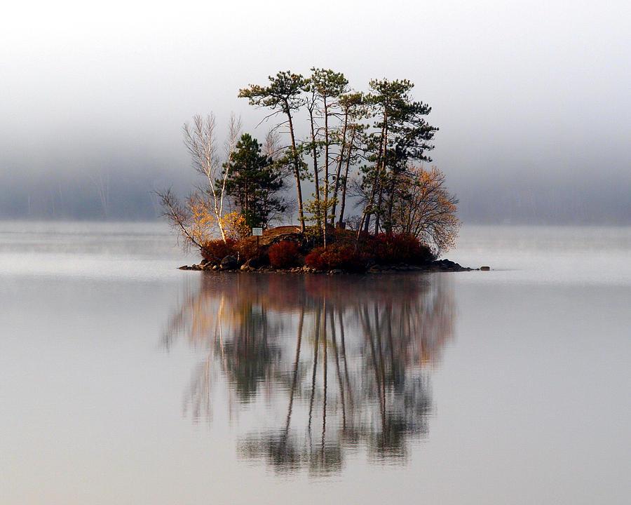 Landscape Photograph - Bridgton Maine by Henry Gray