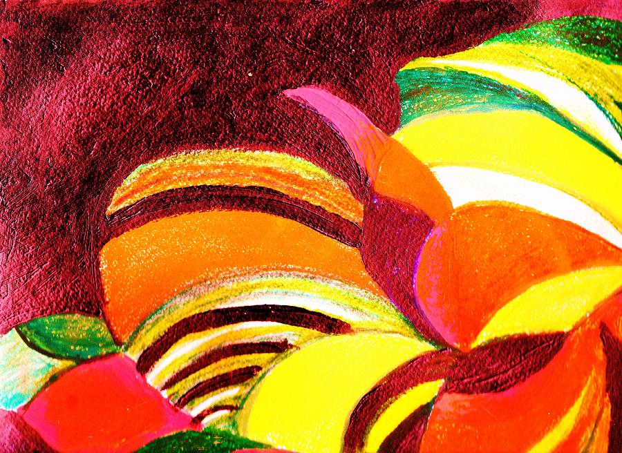 Abstract Painting - Bright Abstraction by Anne-Elizabeth Whiteway
