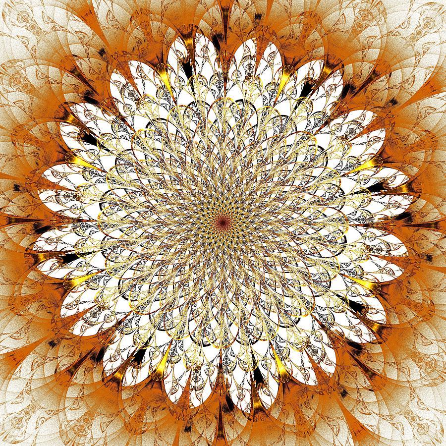 Plant Digital Art - Bright Flower by Anastasiya Malakhova