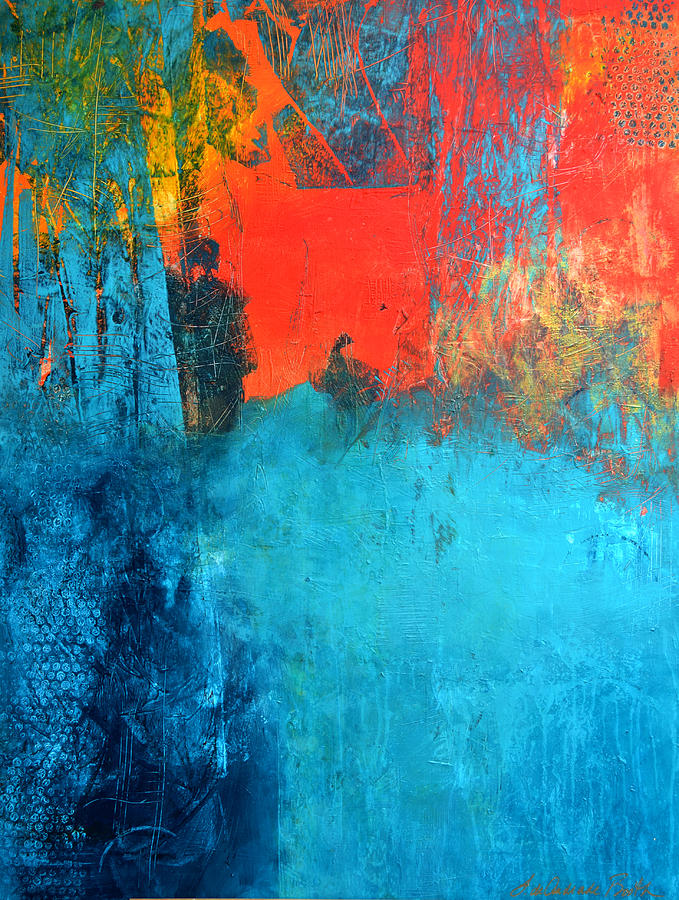 Abstract Painting - Bright New Day by Filomena Booth