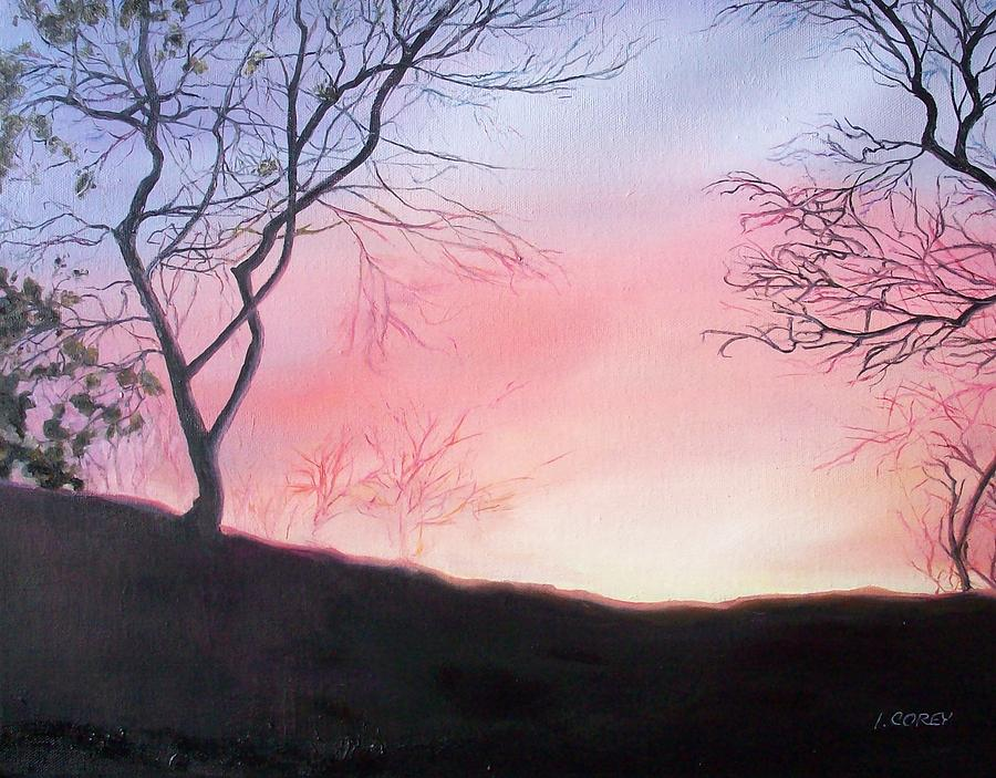 Landscape Painting - Bright New Day by Irene Corey