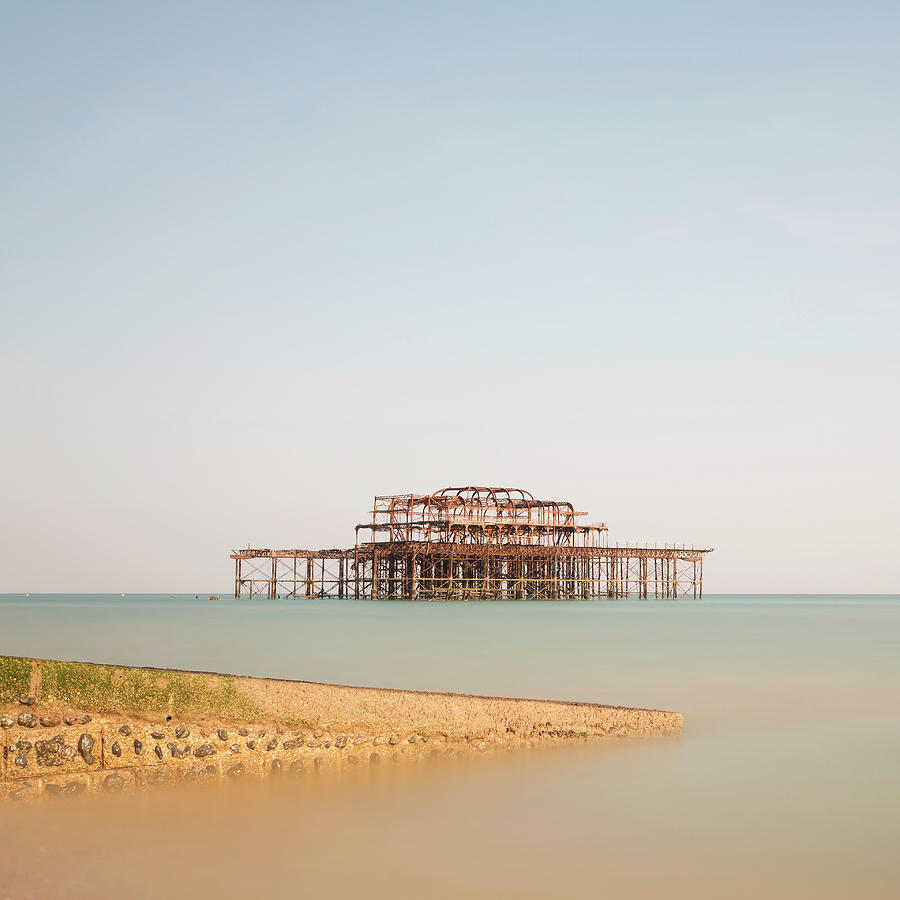 Brighton Pier Photograph by  Ultraforma