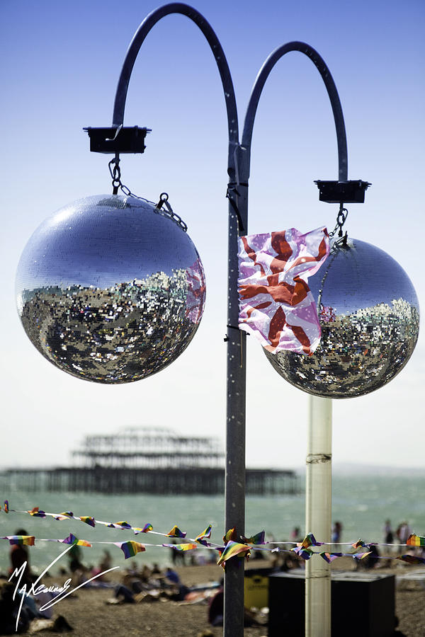 Brighton Photograph - Brighton With Pride by Max CALLENDER