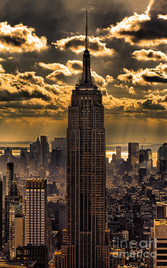 empire state building art | fine art america, Ideas
