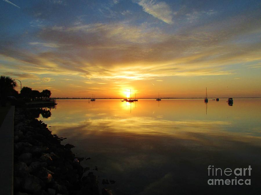 Cay Photograph - Brilliant Day Begun by Keri West