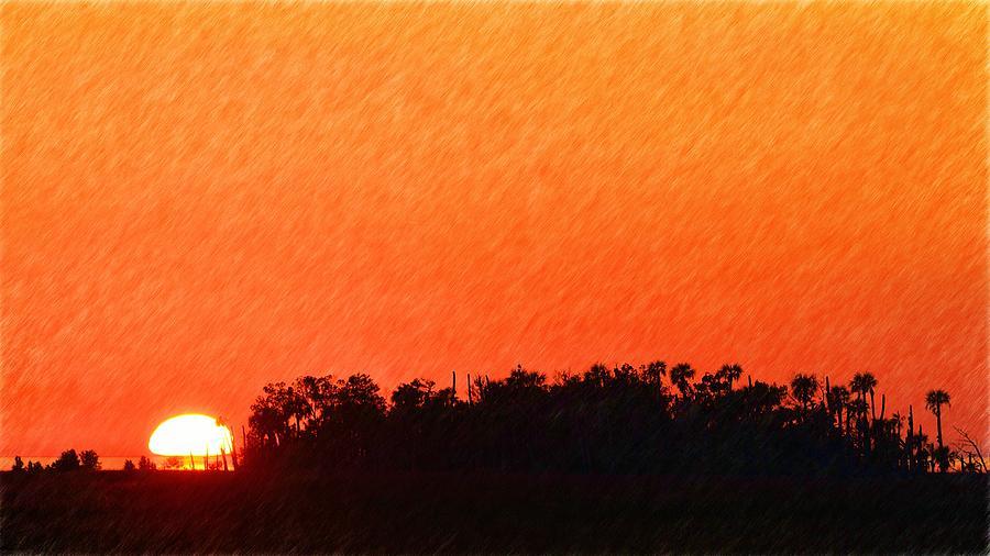 Brilliant Sunset Photograph