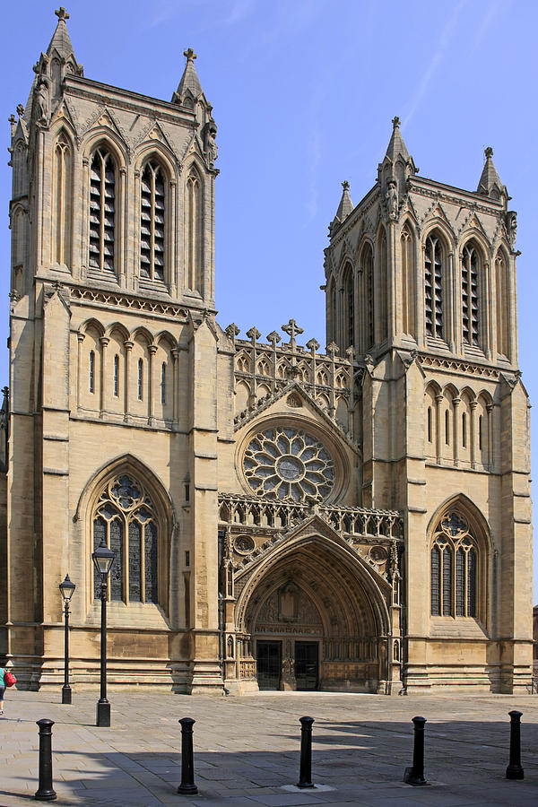 Bristol Photograph - Bristol Cathedral by Chris Smith