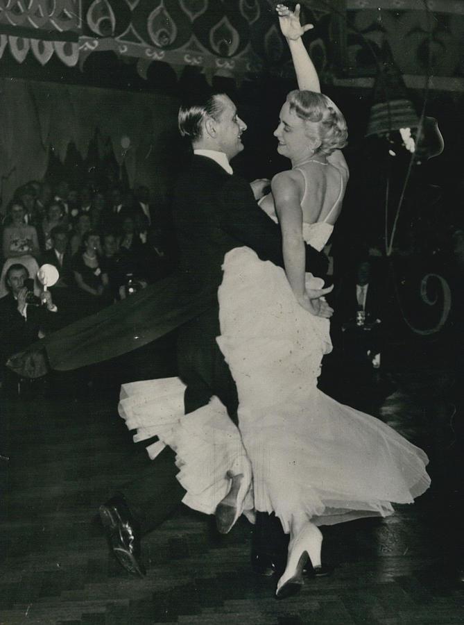 Retro Photograph - Brit I H Pajr Wins Dancing Grand Prix by Retro Images Archive