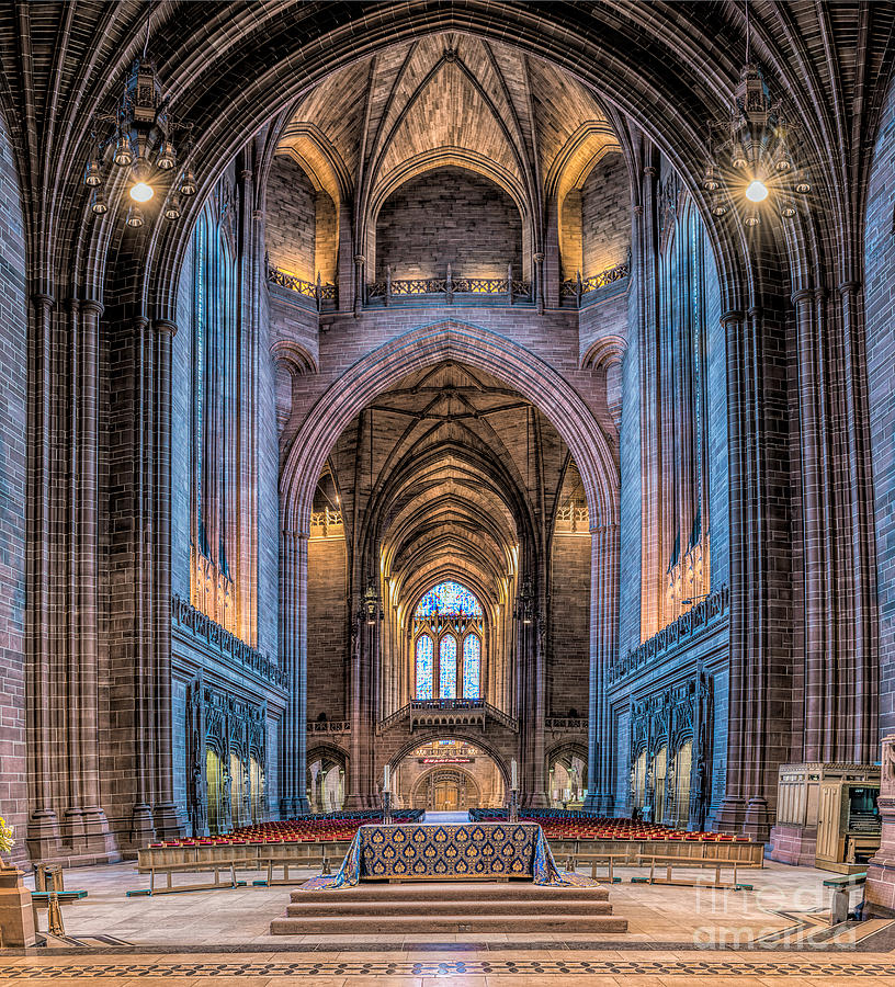 British Photograph - British Cathedral by Adrian Evans