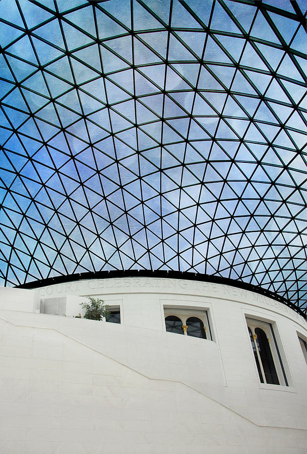Roof Photograph - British Museum by Stephen Norris