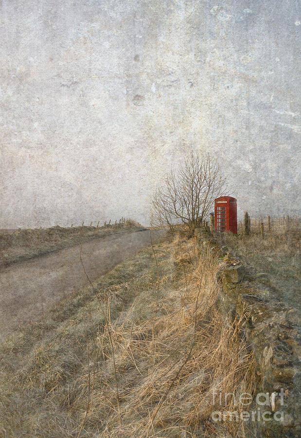 Telephone Box Photograph - British Phone Box by Liz  Alderdice