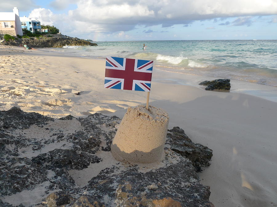 Sandcastle Photograph - British Sandcastle by Richard Reeve