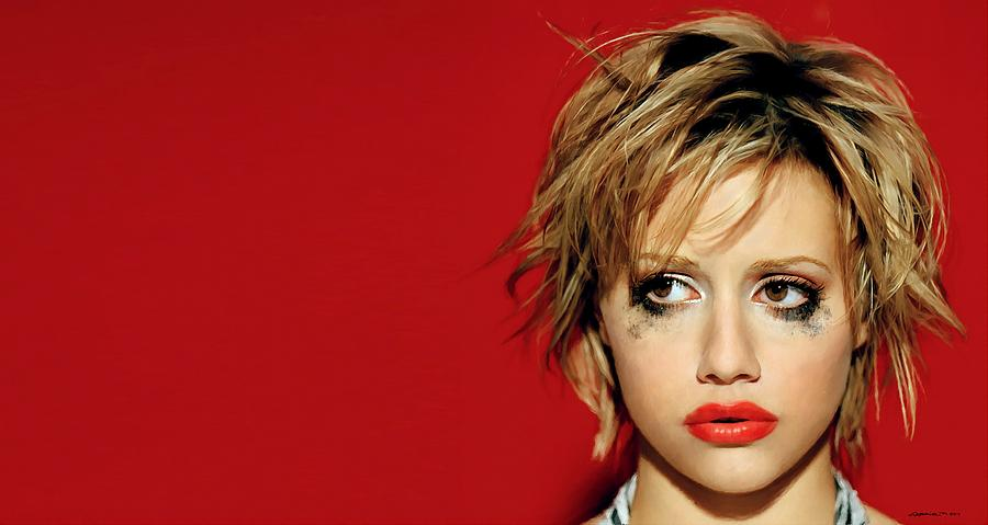 Actress Digital Art - Brittany Murphy Tribute by Gabriel T Toro