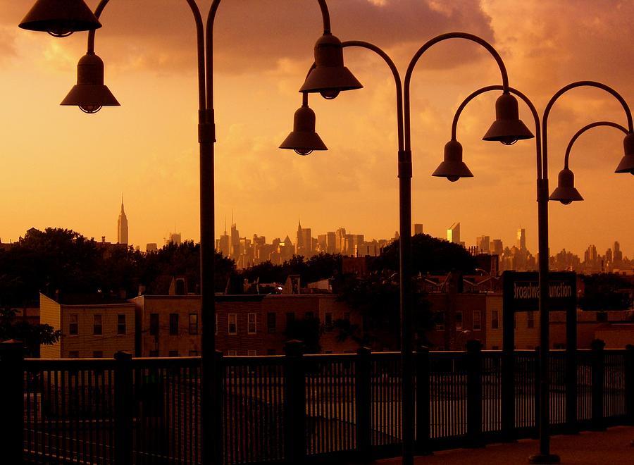 Fine Art America Prints Photograph - Broadway Junction In Brooklyn, New York by Moniques Fine Art