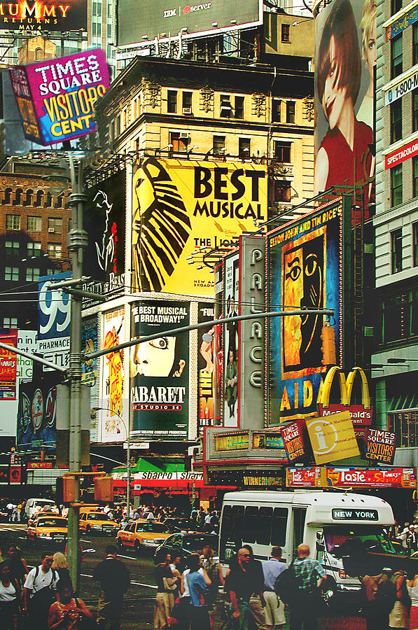 Broadway Shows New York City Photograph By Bill Marder