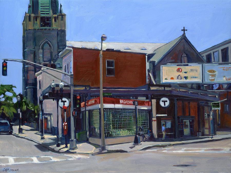 Broadway Station by Deb Putnam