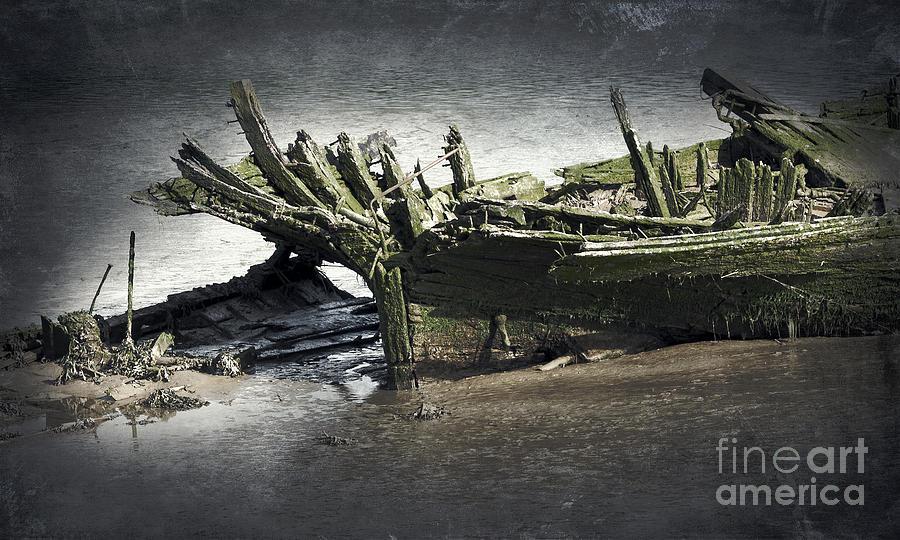 Anchor Photograph - Broken And Forgotten  by Svetlana Sewell
