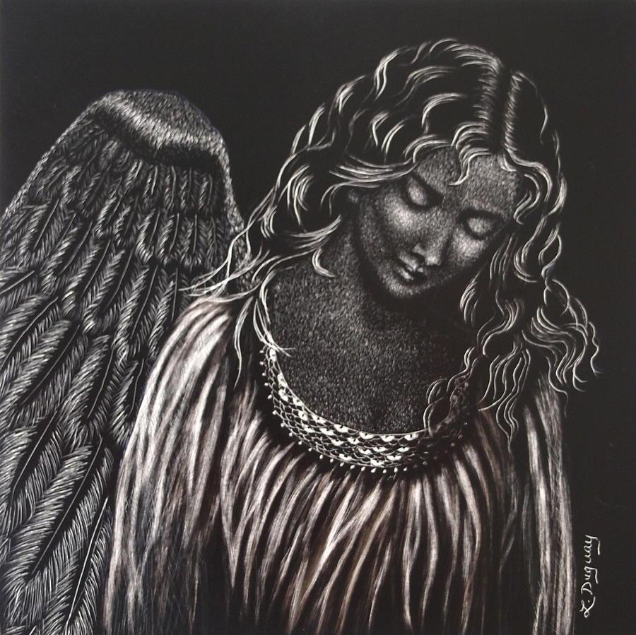 Broken Angel by Lora Duguay