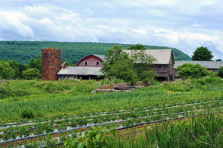 Barn Photograph - Broken Barn by Kenneth Feliciano