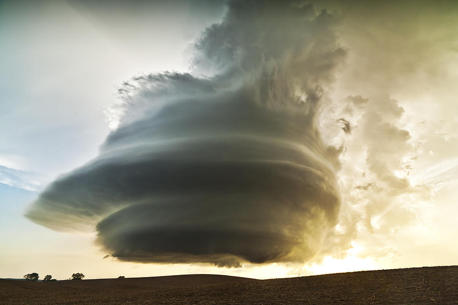 Supercell Photograph - Broken Bow Monster by Evan Ludes