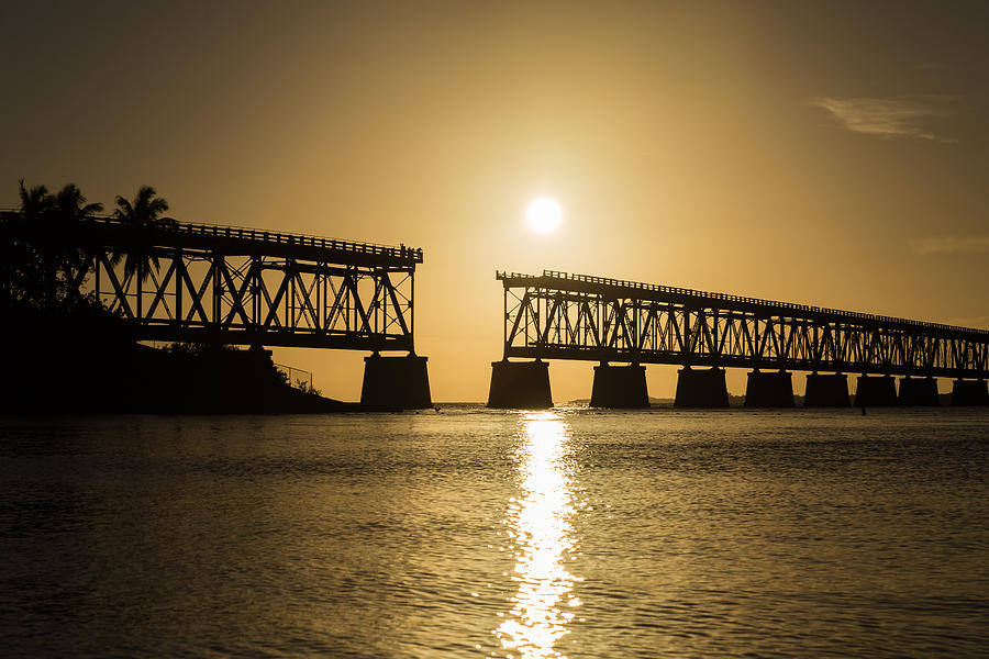 Florida Photograph - Broken Bridge by Kristopher Schoenleber