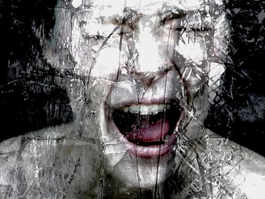 Broken Girl Painting By Artist Mayo