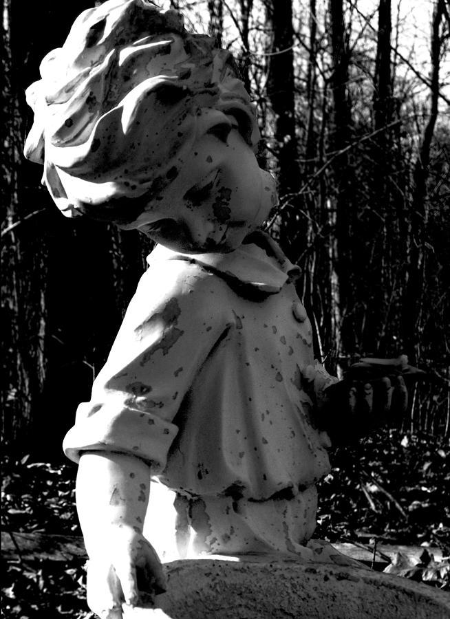 Statues Photograph - Broken Memorial by Kristie  Bonnewell