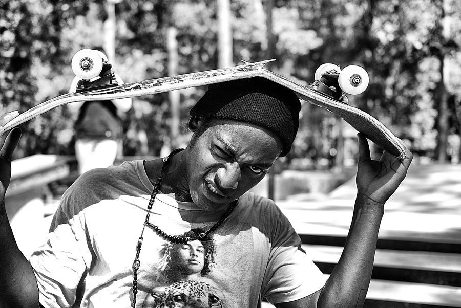 Skate Park Photograph - Broken by Mick Logan