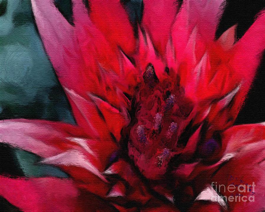 Bromeliad Splendor Painting