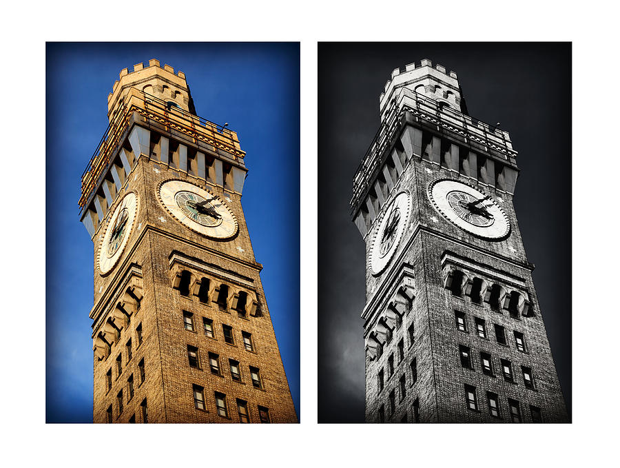 Baltimore Photograph - Bromo Seltzer Black And Blue by Stephen Stookey