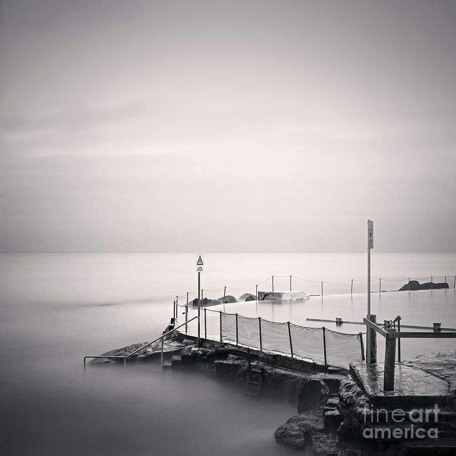 Australia Photograph - Bronte Pool Sydney by Colin and Linda McKie