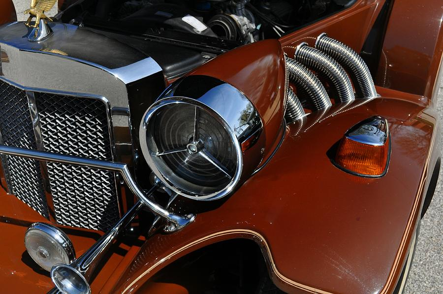 Vehicle Photograph - Bronze Beauty by Marty Koch