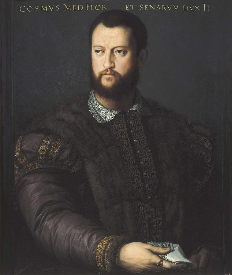 Bronzino (Agnolo di Cosimo di Mariano) | Seated Male Nude