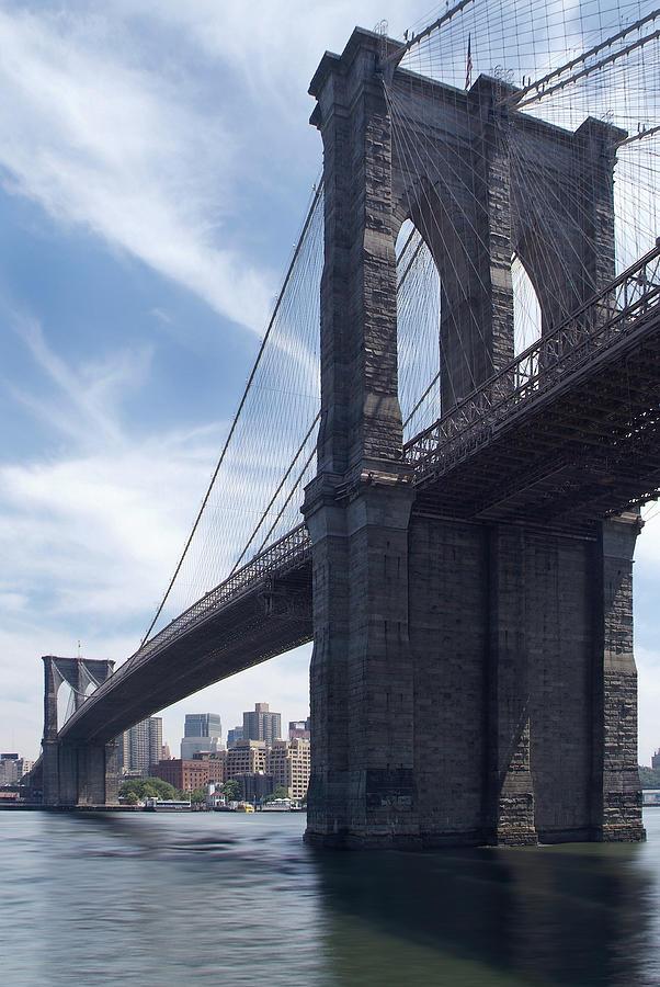 Brooklyn Bridge Photograph - Brooklyn Bridge by Mike McGlothlen