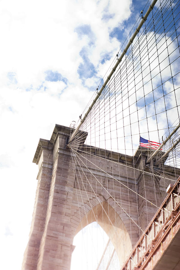 Brooklyn Bridge Photograph by Mundusimages