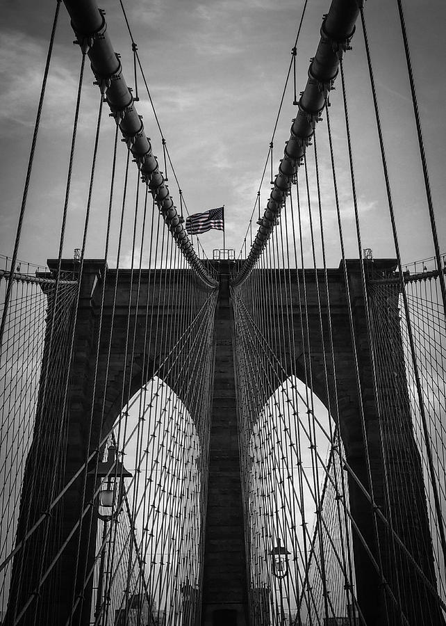 New York Photograph - Brooklyn Bridge by Nicklas Gustafsson