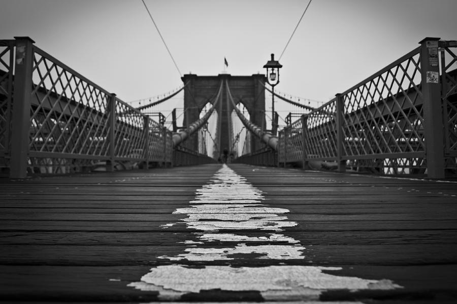 Brooklyn Photograph - Brooklyn Lines by Michael Murphy