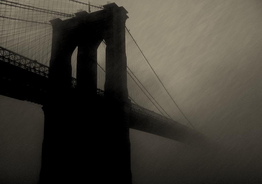 New York Photograph - Brooklyn Shadows by Jeff Watts