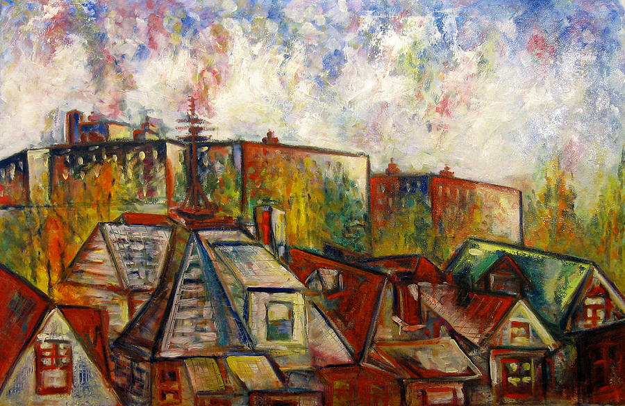 Brooklyn Painting - Brooklyn View by Vladimir Kezerashvili