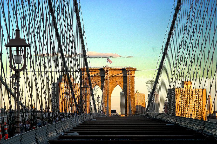 New York City Photograph - Brooklynbridge by Frank Savarese