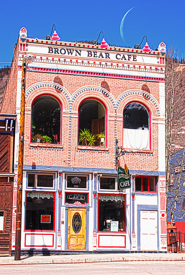 Silverton Photograph - Brown Bear Cafe Silverton Colorado by Janice Rae Pariza